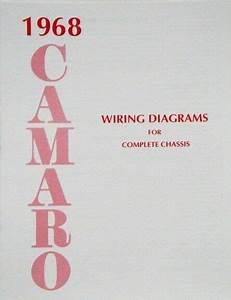 68 1968 Chevy Camaro Electrical Wiring Diagram Manual