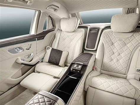 In the interior, exclusive materials and sophisticated highlights testify to the highest of quality, underlining the ultimate in luxury. Mercedes-Maybach Pullman Guard: A 5,600Kg Luxurious Limo ...
