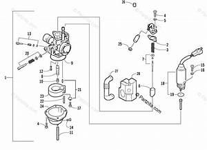 Arctic Cat Atv 2005 Oem Parts Diagram For Carburetor