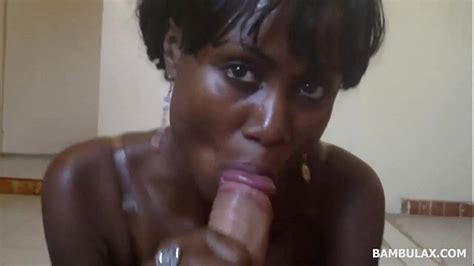 Ebony Amateur Ass Mouth