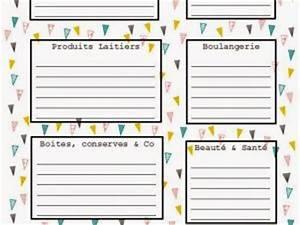 Liste De Courses À Imprimer Gratuitement : pour les mamans d bord es la p 39 tite liste de courses ~ Nature-et-papiers.com Idées de Décoration