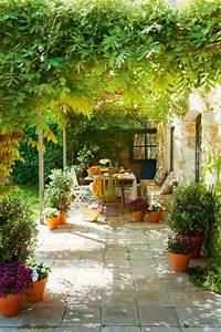 60 photos comment bien amenager sa terrasse With idee deco pour petit jardin