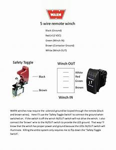 5 Pin Winch Controller In