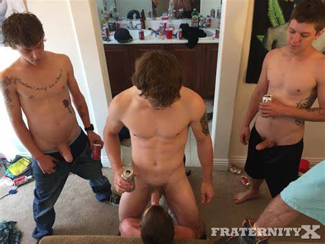 Young Frat Bro Creampie In Libertines Monster Ball Nuttybutt
