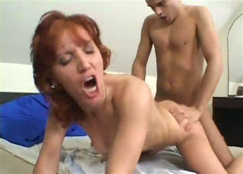 Adorable Teenage Red Haired Drilled The Fucked Of Her Life