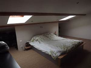 Chambre Sous Les Combles : chambre sous les combles photo 1 2 3502737 ~ Melissatoandfro.com Idées de Décoration