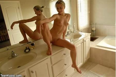 Bathing Nude Teen