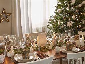 Table De Fete Decoration Noel : deco noel maison scandinave ~ Zukunftsfamilie.com Idées de Décoration