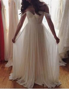 Boho Chic Boho Wedding bridesmaids dress Off Shoulder ...