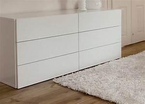 Grande Commode Blanche : commode blanche habitat ~ Teatrodelosmanantiales.com Idées de Décoration