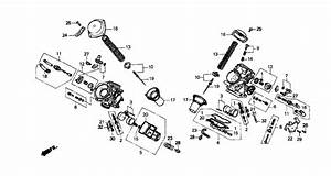 Honda Shadow 750 Carburetor Diagram