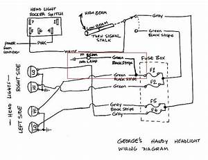 Headlight Diagram For Dennis Daley