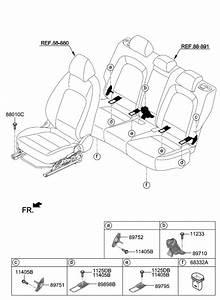 2019 Hyundai Kona Electric Hardware-seat