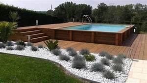 Terrasse Piscine Hors Sol : terrasse pour piscine hors terre ~ Dailycaller-alerts.com Idées de Décoration