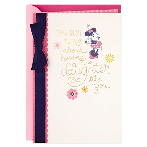 We did not find results for: Disney Minnie Mouse Mother's Day Card for Daughter - Greeting Cards - Hallmark