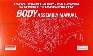 1966 Ford Fairlane Wiring Diagram Manual Reprint