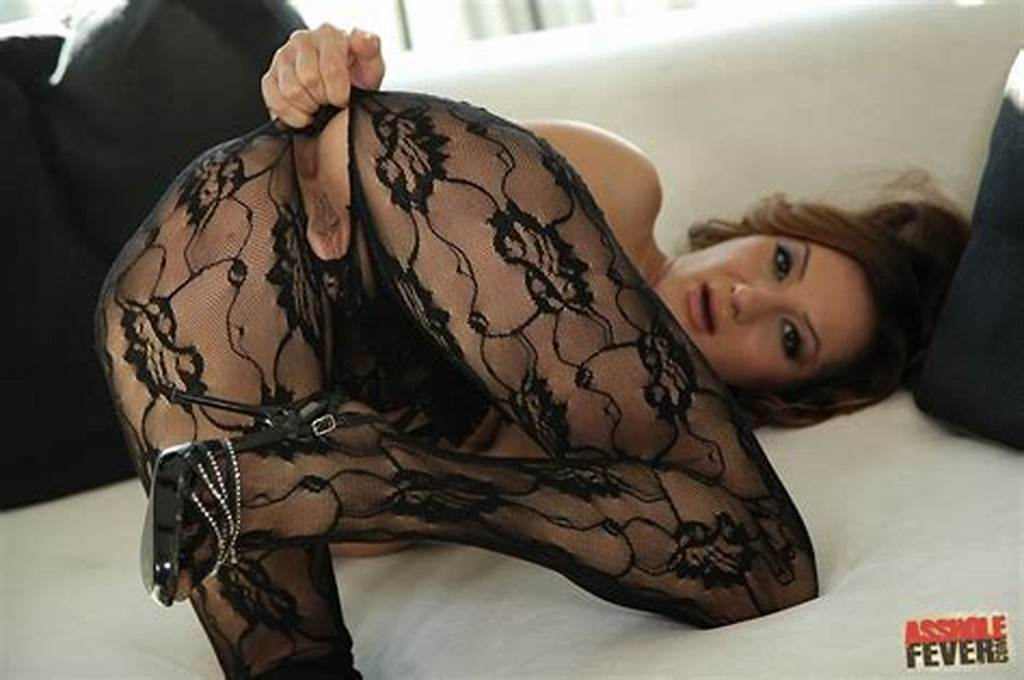 #Alice #Romain #In #Sexy #Pantyhose #Gets #Her #Asshole #Drilled