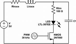 reducing led pwm noise which is the best option With capacitor electronics circuit components passive circuit components