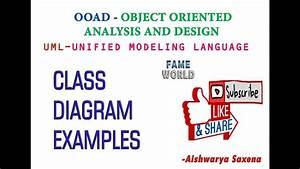 Lecture - 8 - Uml - Class Diagram - Example -2