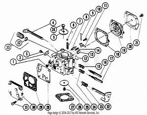 Poulan 5200 Gas Saw Parts Diagram For Carburetor Breakdown