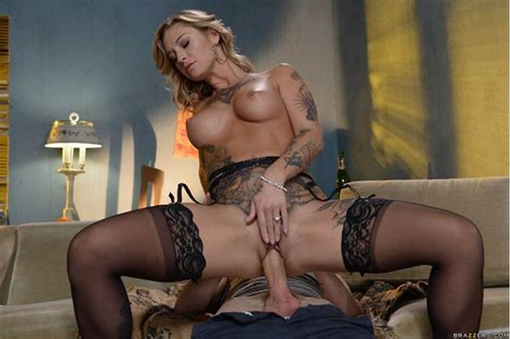 #Kleio #Valentien #In #Black #Stockings #And #Heels #Gets #Fucked