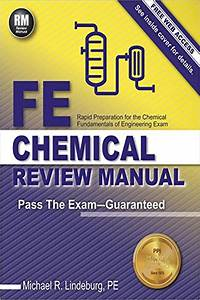 2016  Ppi Fe Chemical Review Manual  1st Edition
