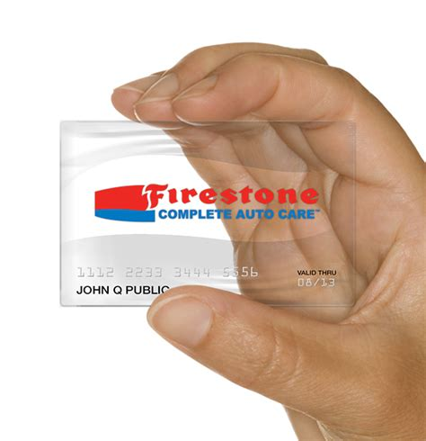 Cards issued by halfords ltd. Firestone Complete Auto Care - Credit Card on Behance