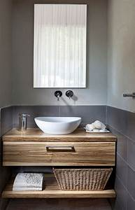 Waschtisch Holz Aufsatzwaschbecken : waschtisch mit unterschrank selber bauen ~ Michelbontemps.com Haus und Dekorationen