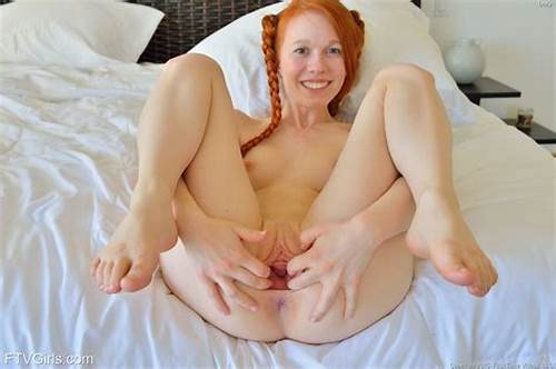 Ginger With Shaved Asshole Cumload #Cute #Redhead #With #Pigtails #Spreading #Pussy #Lips #For #Huge