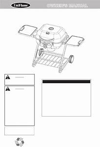 Uniflame Charcoal Grill Cbc1255sp User Guide