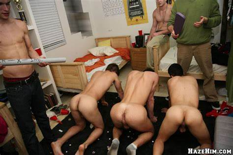 Humiliated College Hazing With Teens Hidden Cam