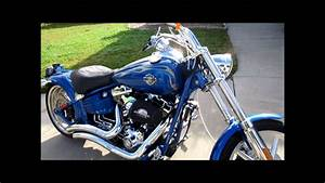 2008 Harley Davidson Rocker C Detail