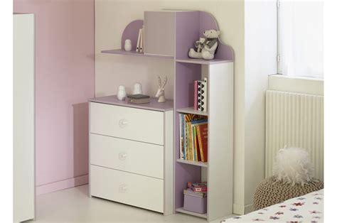 photo de chambre fille commode de chambre fille blanc et lilas trendymobilier com