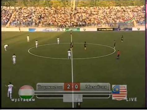 Compare the best online odds from the best bookies. Scnd Gol Tajikistan vs Malaysia - YouTube
