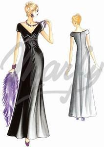 Patron robe de mariee gratuit en ligne idees et d for Patron de robe de mariée