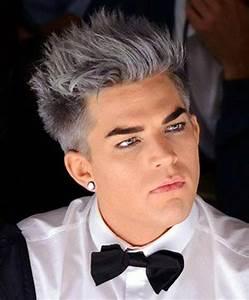 grey fantasy • Men's Hairstyles Club