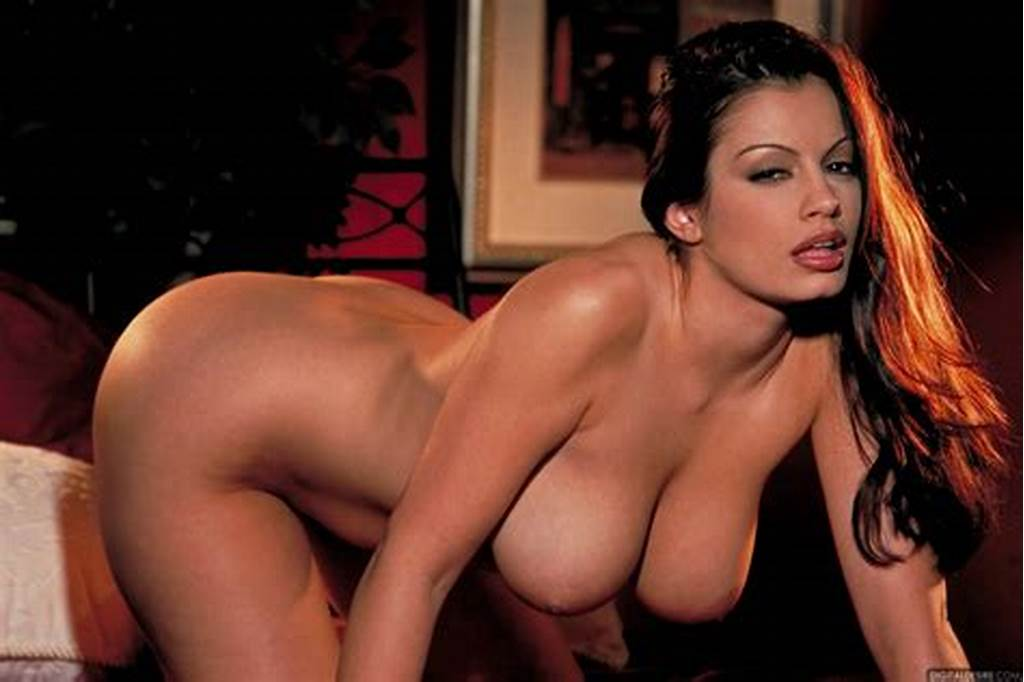#Aria #Giovanni #In #Black #Dress #And #Sexy #Heels #Strips #For