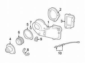 Mazda B2300 Hvac Blower Case Gasket  Hvac Blower Case