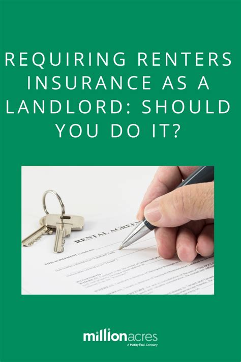 Property owners should consider a landlord home insurance policy if they're responsible for the entire building, including the exterior and roof. Requiring Renters Insurance As a Landlord: Should You Do It?   Renters insurance, Being a ...