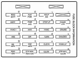 2007 Gmc Sierra 1500 Fuse Box Diagram