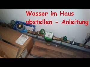 Geldverstecke Im Haus : wasser im haus abstellen hauptwasserleitung im keller ~ Watch28wear.com Haus und Dekorationen