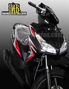 Honda Vario 110 Fi Dengan Headlight Led Dan Answer Back
