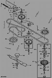 25 John Deere 54c Mower Deck Diagram