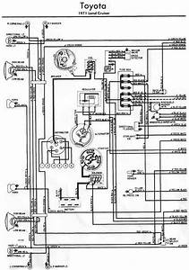 Toyota Land Cruiser 1971 Electrical Wiring Diagram Left