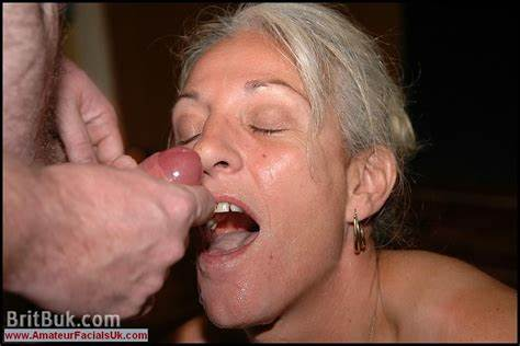 Old Mature Facial Inside