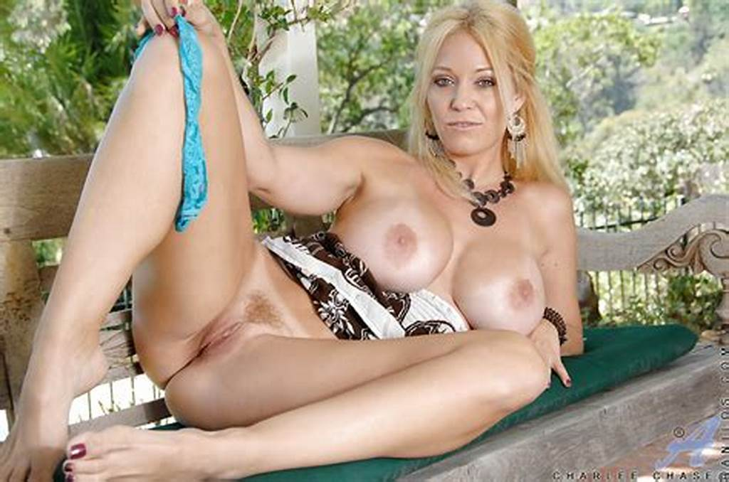 #Gorgeous #Blonde #Mature #Lady #Reveals #Her #Big #Tits #And