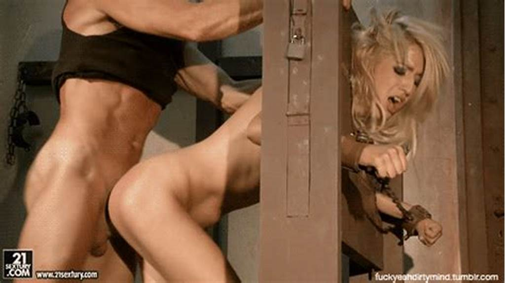 #Amazing #Blonde #In #Amazing #Bondage #Hardcore #Animated #Photo