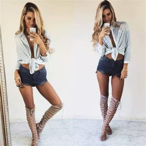 441 Best images about booty shorts outfit on Pinterest | Shorts High waisted shorts and Jean shorts