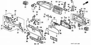 Instrument Panel Garnish For 1999 Honda Shuttle Ra3