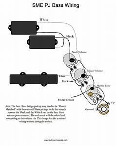 Fender Precision Bass Wiring Schematic